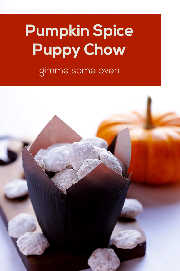 Pumpkin Spice Puppy Chow 3