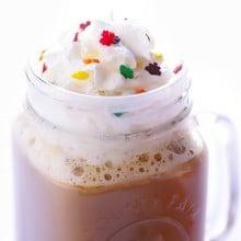 Maple Latte Recipe   gimmesomeoven.com