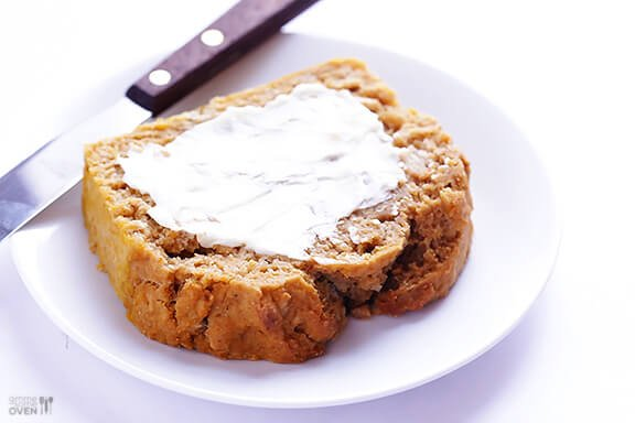 Pumpkin Beer Bread Recipe | gimmesomeoven.com