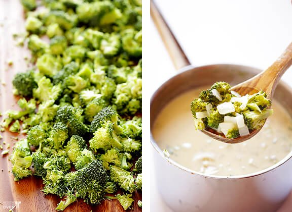 5-Ingredient Broccoli Cheese Soup Recipe | gimmesomeoven.com