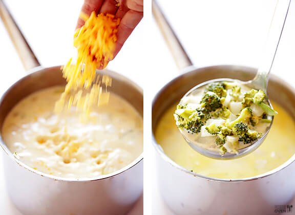 5-Ingredient Broccoli Cheese Soup Recipe   gimmesomeoven.com