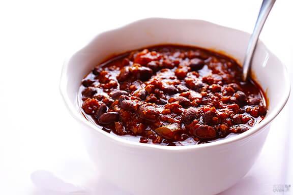 5 Ingredient Chili | gimmesomeoven.com