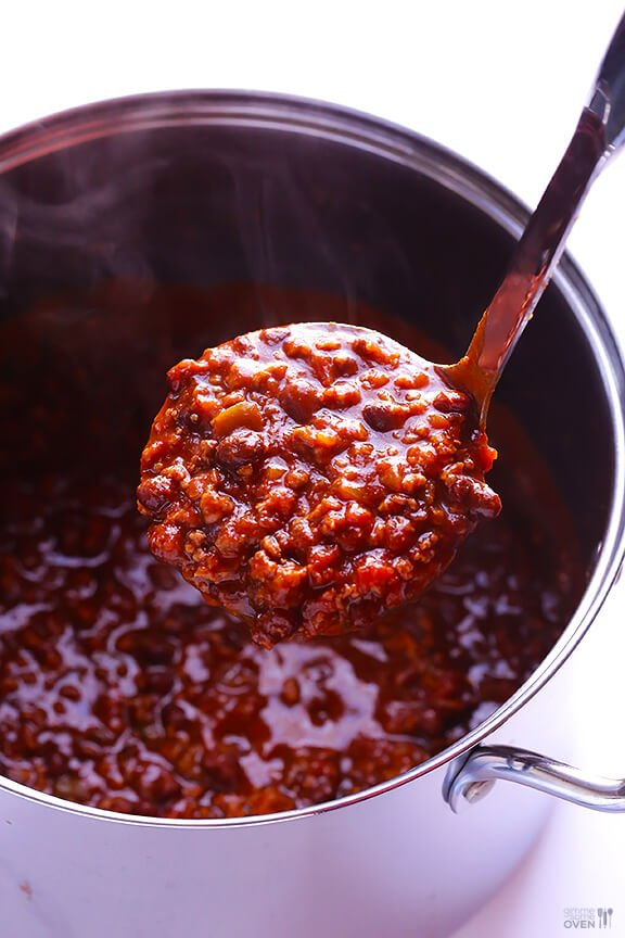 5 Ingredient Chili | gimmesomeoven.com