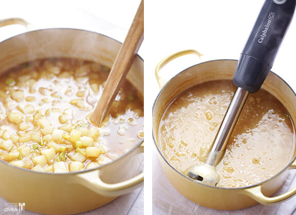 5 Ingredient Potato Soup Recipe | gimmesomeoven.com