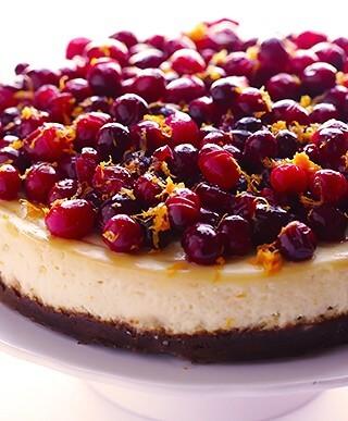 Cranberry Orange Cheesecake 1