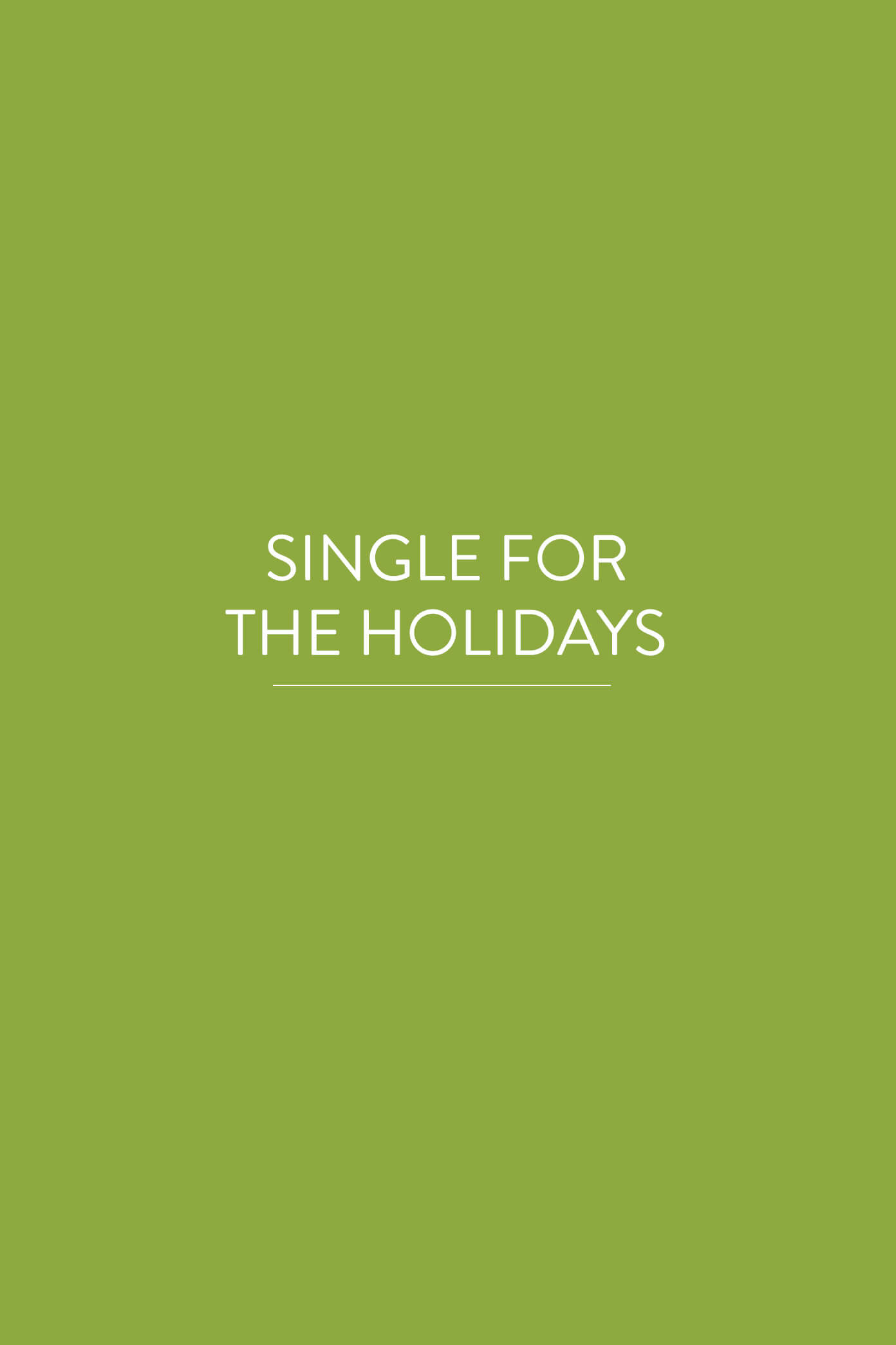 Dating holidays for singles