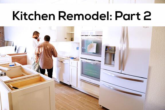 kitchen remodel part 2