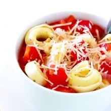 5 Ingredient Tortellini Soup 1