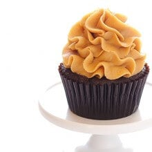 Chocolate Peanut Butter Cupcakes 1