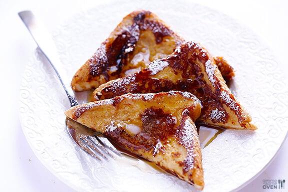 Eggnog French Toast   gimmesomeoven.com