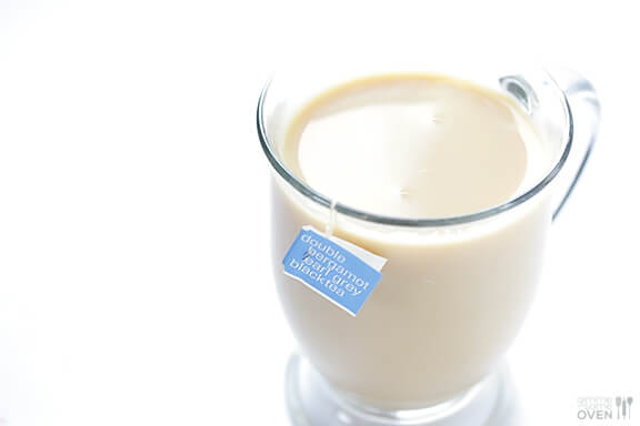 London Fog Tea Latte (Earl Grey Latte) | Gimme Some Oven