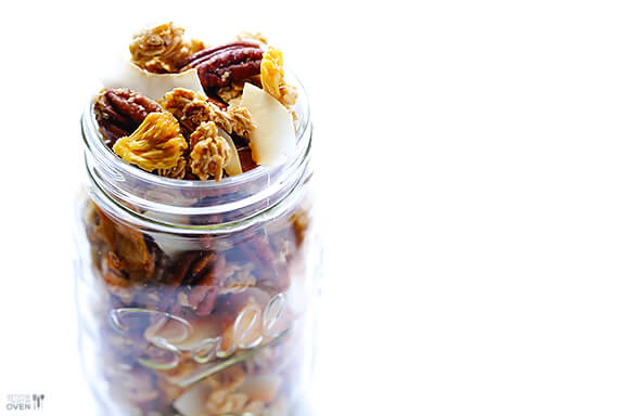 Pina Colada Granola Recipe | gimmesomeoven.com