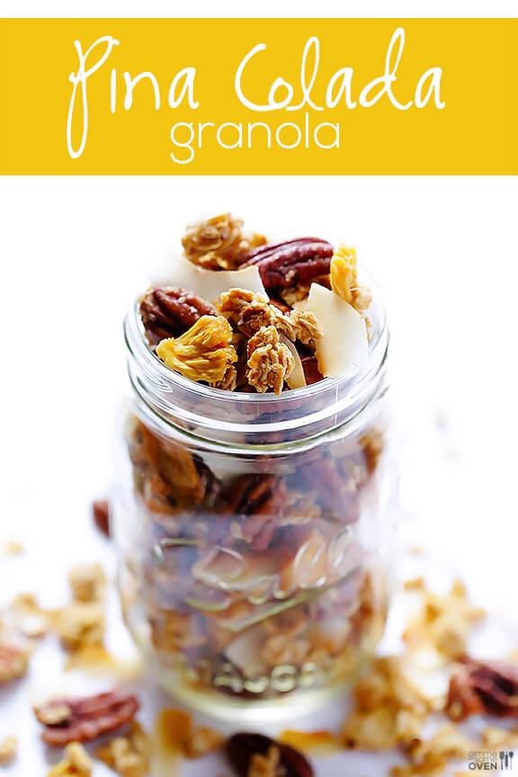 Pina Colada Granola + Nature Box #GIVEAWAY | gimmesomeoven.com