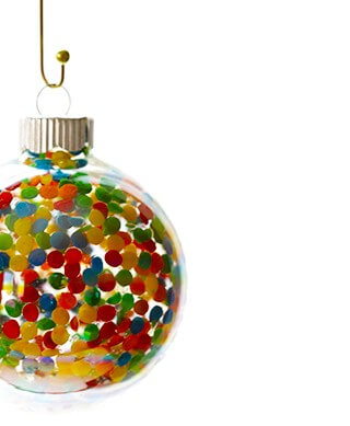 DIY Sprinkles Ornaments | gimmesomeoven.com #diy #christmas #holidays #ornaments
