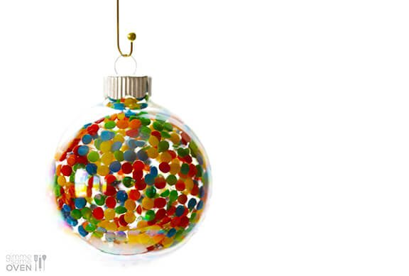 Diy Sprinkles Ornaments Gimme Some Oven