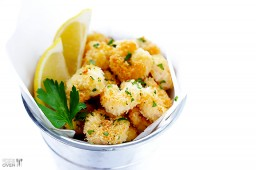 Skinny Popcorn Shrimp + $50 Visa Gift Card and OXO Giveaway {Gimme Some Oven}