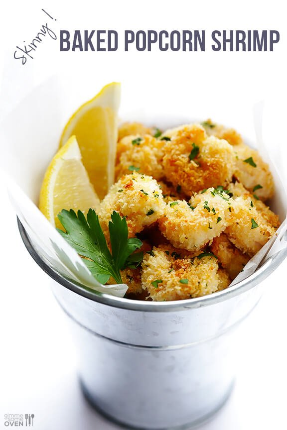 Baked Popcorn Shrimp Recipe Gimme Some Oven