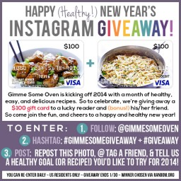 $200 Visa Gift Card Instagram Giveaway