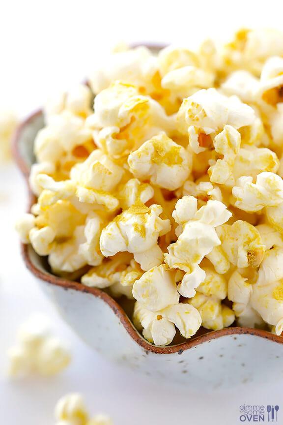 Nooch Popcorn | gimmesomeoven.com #vegan