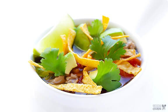 Skinny Slow Cooker Taco Soup 1