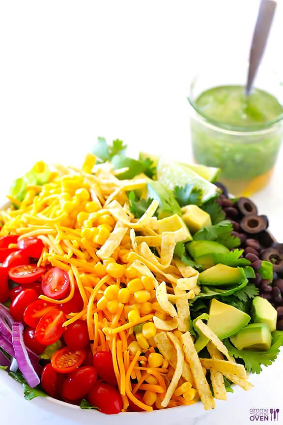 Skinny Taco Salad 4