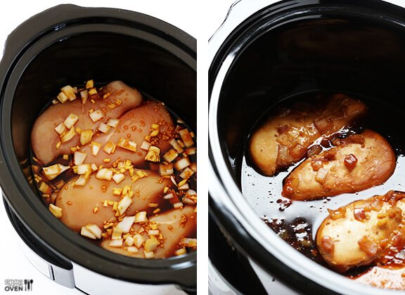 Cooking chicken breast in crock pot