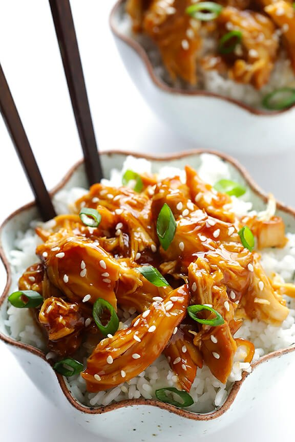 Gimme Some Oven Slow Cooker Teriyaki Chicken | Gimme Some Oven