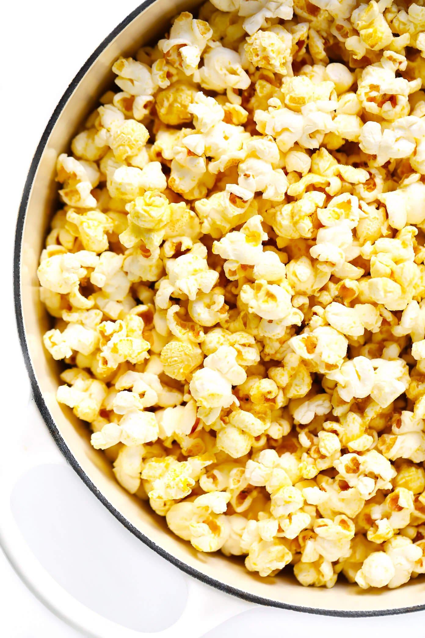 How To Make Nooch Popcorn (Vegan)