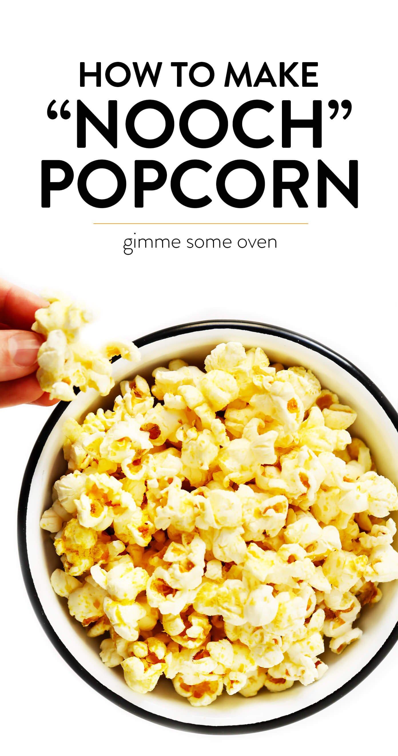 Nooch Popcorn Recipe