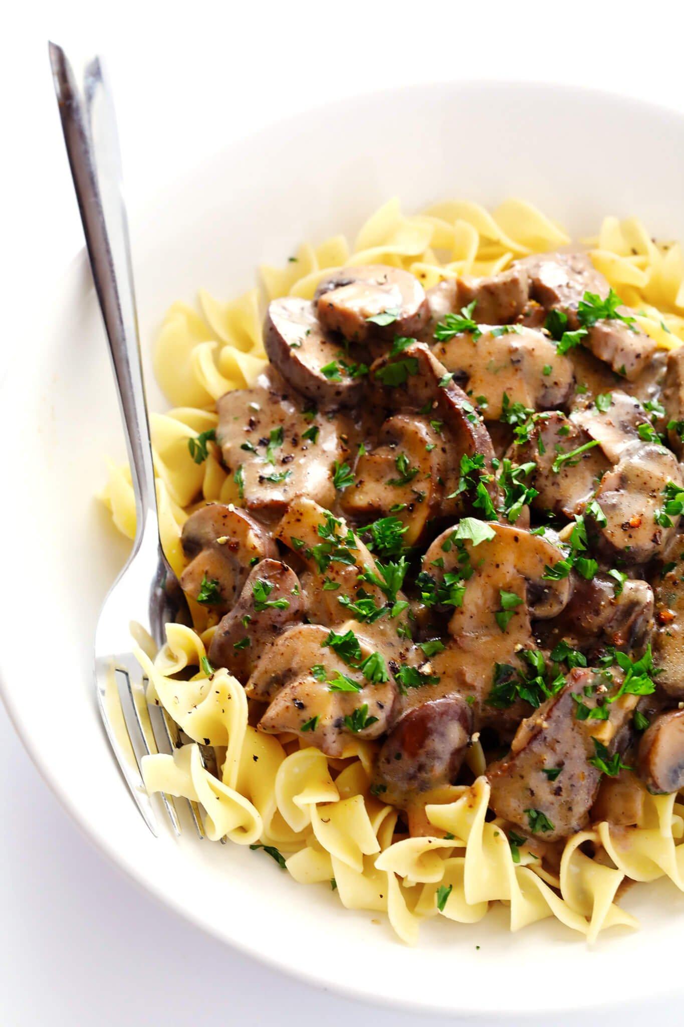 30-Minute Beef Stroganoff Recipe