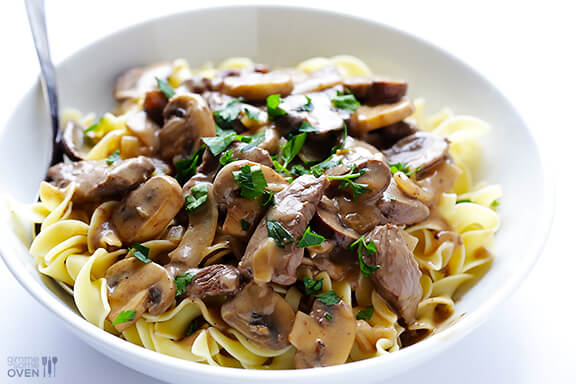 beef stroganoff iii juju bee and fry the beef strips pour the beef ...