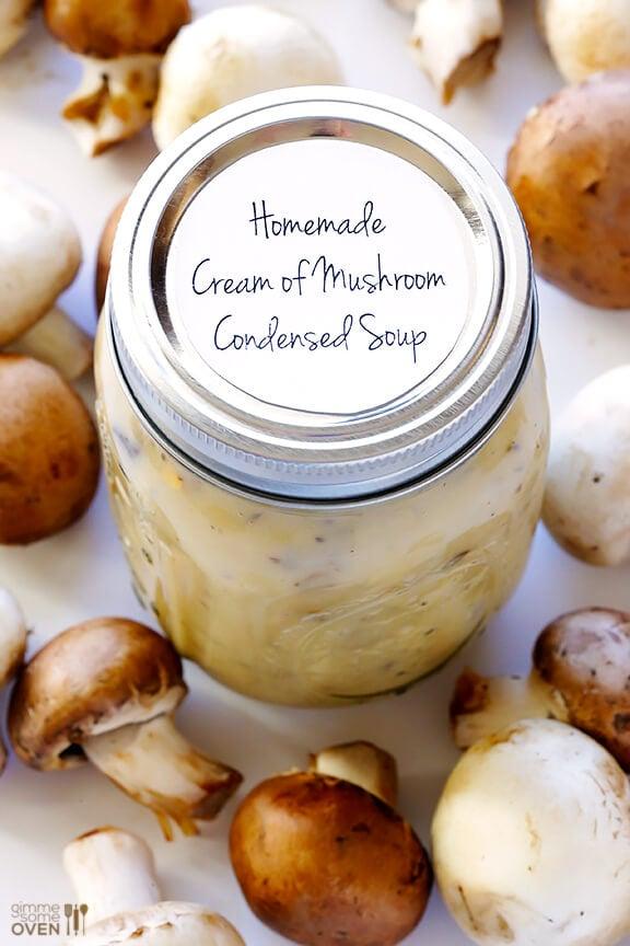Condensed Cream of Mushroom Soup | gimmesomeoven.com