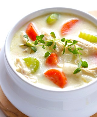 Cream of Chicken Soup | gimmesomeoven.com