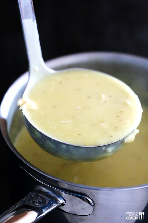 Homemade Cream of Chicken Soup -- perfect for soups and casseroles and SO easy to make homemade! | gimmesomeoven.com
