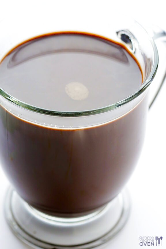 Homemade Hot Chocolate Recipe   gimmesomeoven.com