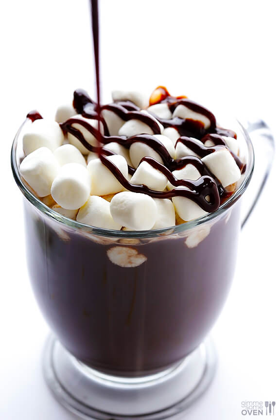 Homemade Hot Chocolate Recipe | gimmesomeoven.com