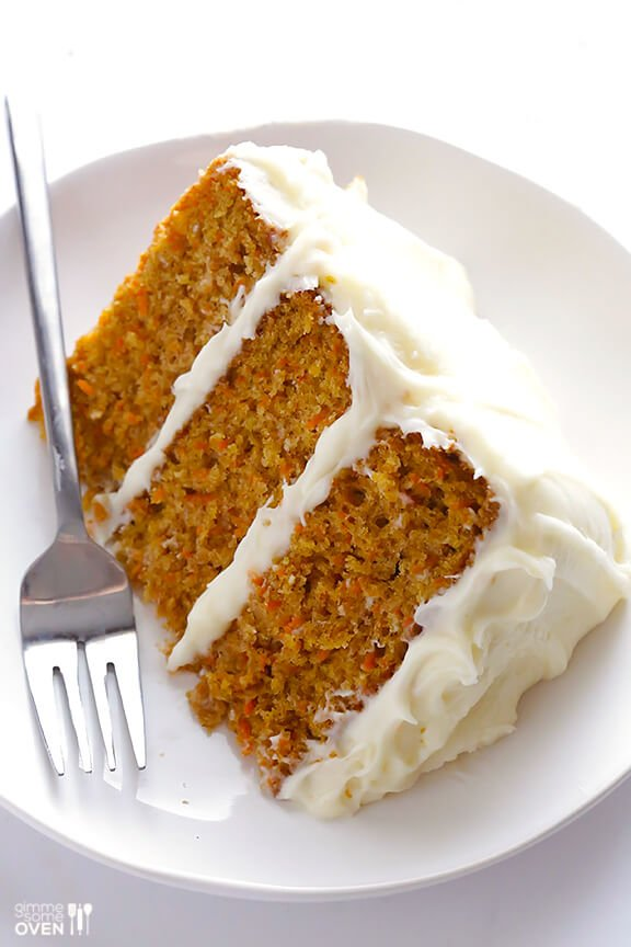The BEST Carrot Cake Recipe -- perfectly moist and delicious, and made ...