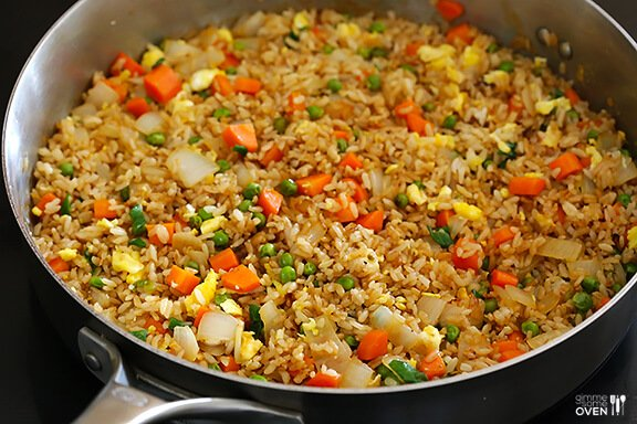 Fried rice gimme some oven how to stir fry rice ccuart Gallery