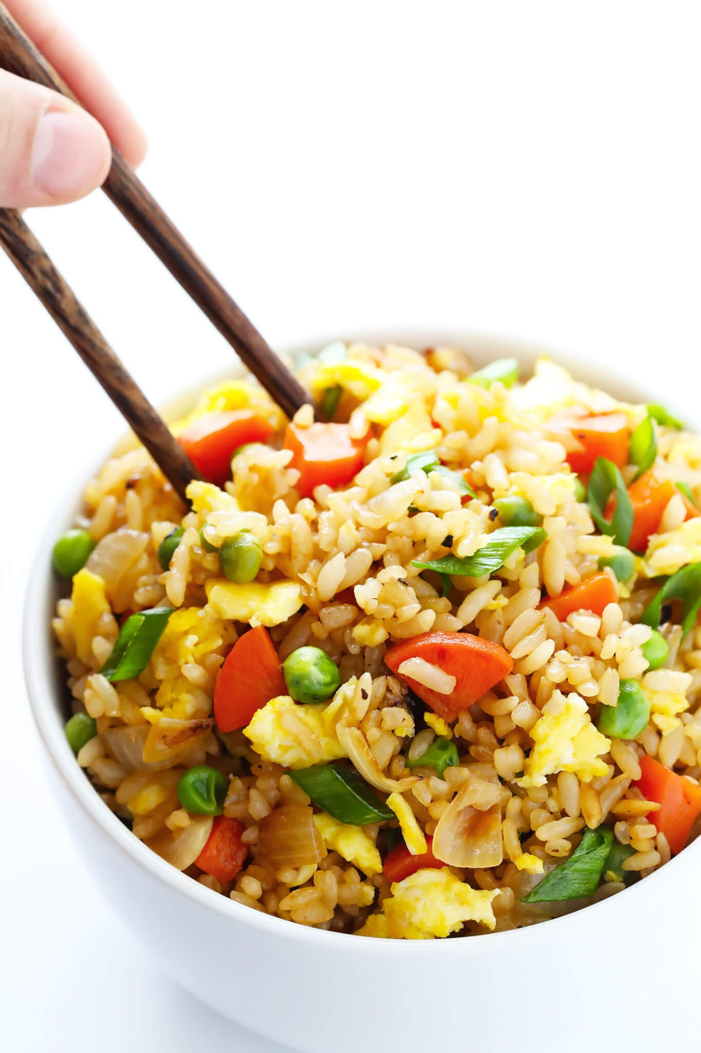 The BEST fried rice recipe with chopsticks