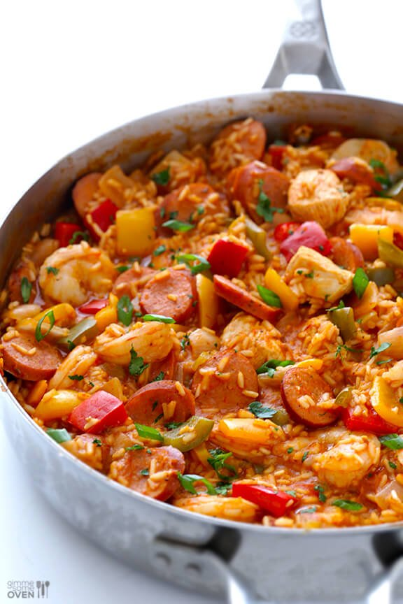 ... how to make their homemade jambalaya recipe. And it's a total winner