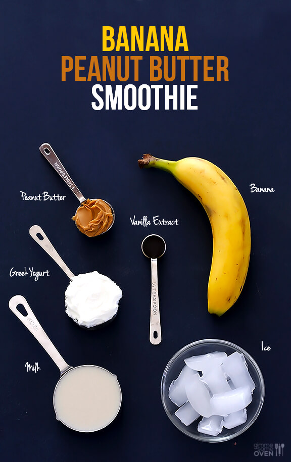 Peanut Butter Banana Smoothie Gimme Some Oven