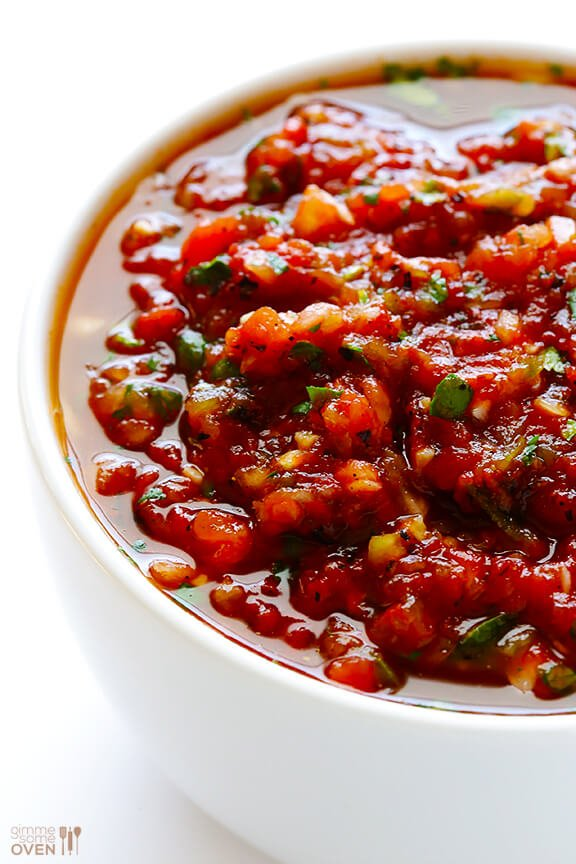 Restaurant Style Salsa Recipe — Dishmaps
