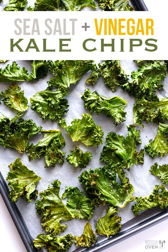 ... salt warm scallion dip with salt and pepper potato chips kale chips
