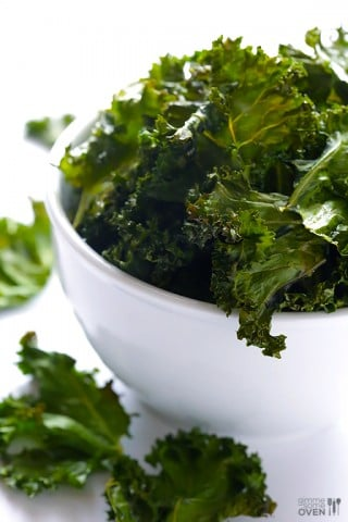 Sea Salt and Vinegar Kale Chips 1