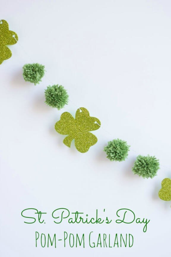 St Patricks Day Garland | designimprovised.com