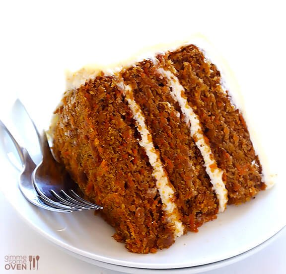Moist Carrot Cake Vegan