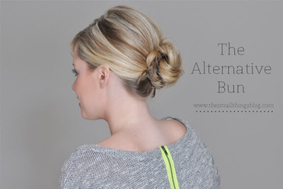 The Alternative Bun | The Small Things Blog