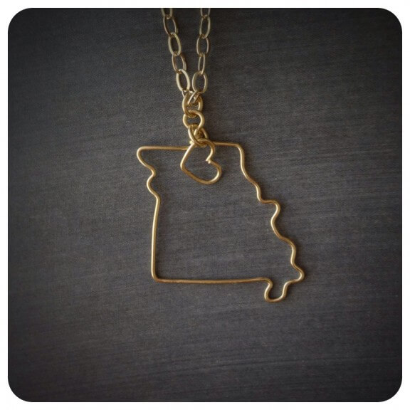 State Necklace   The Folk