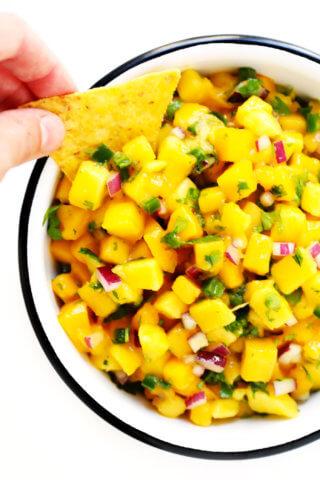 5-Ingredient Mango Salsa Recipe