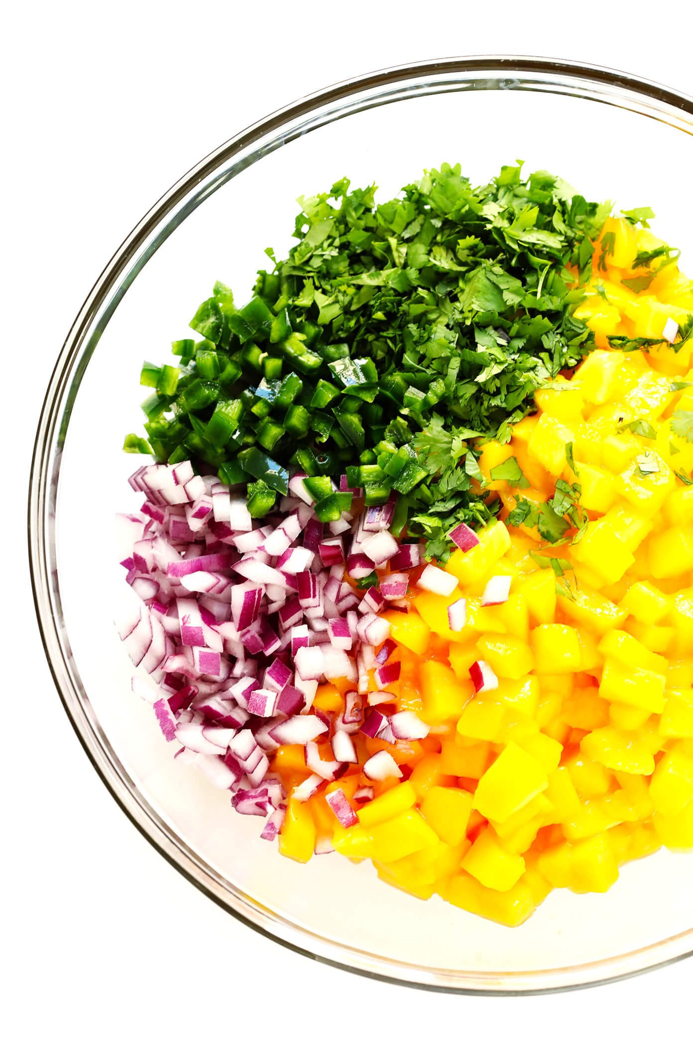 5-Ingredient Mango Salsa Recipe Ingredients